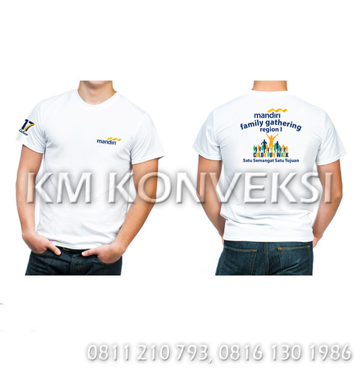 Kaos Family Gathering Bank Mandiri